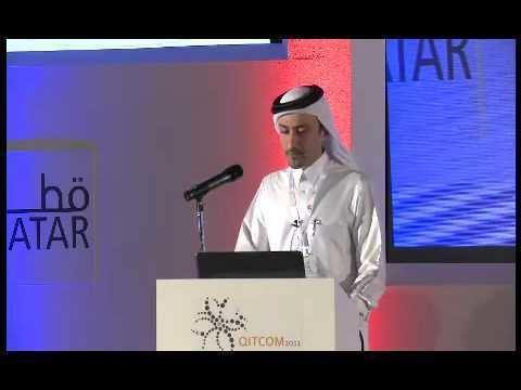Hassan Al-Sayed Mr Hassan AlSayed speaks at QITCOM 2011 YouTube