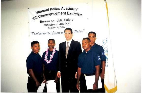 Hatohobei Hatohobei State Law Enforcement Trainees October 2001