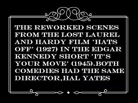 Hats Off (1927 film) From LHs Hats Off 1927 to Its Your Move 1945 YouTube