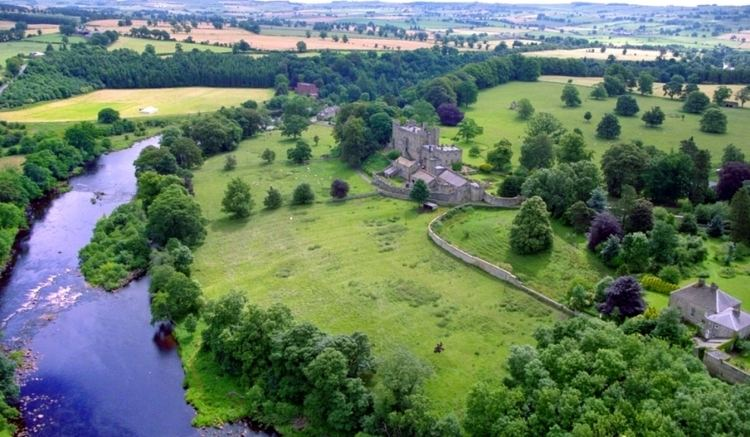 Haughton Castle Haughton Castle Fly Fishing Spinning River North Tyne off River Tyne