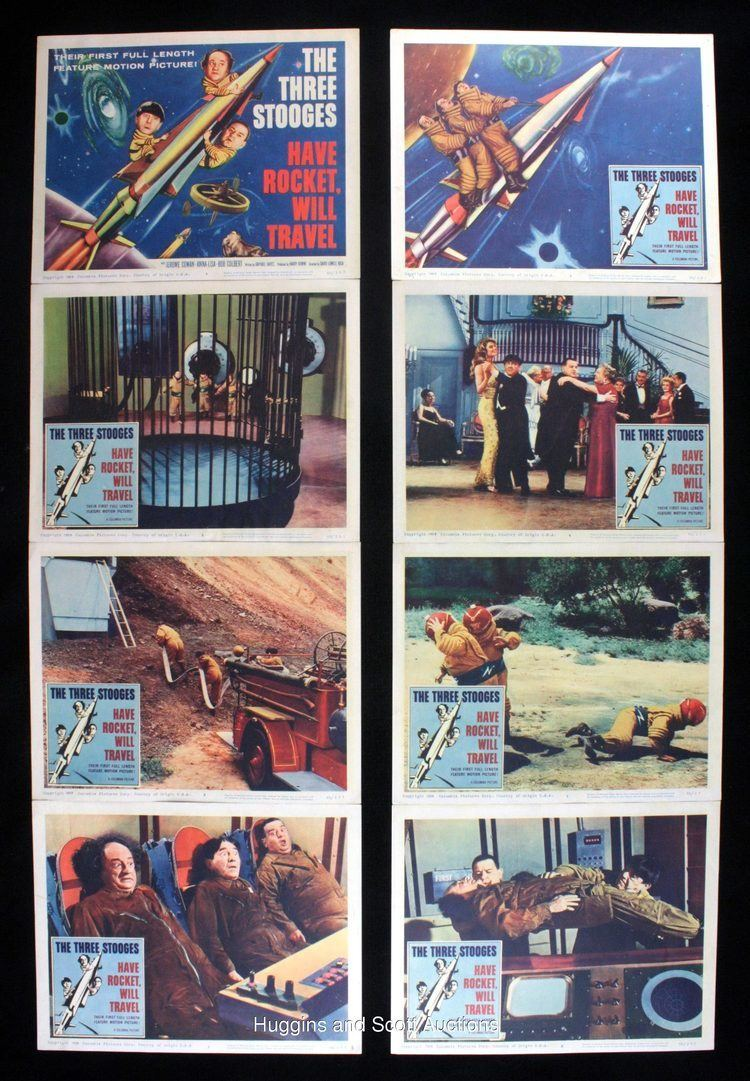 Have Rocket, Will Travel Three Stooges 1959 Have Rocket Will Travel Lot of 11 With