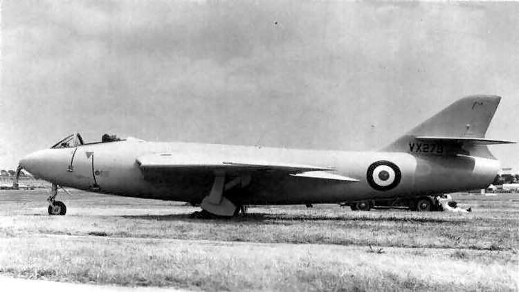 Hawker P.1081 ADF Serials Hawker P1081
