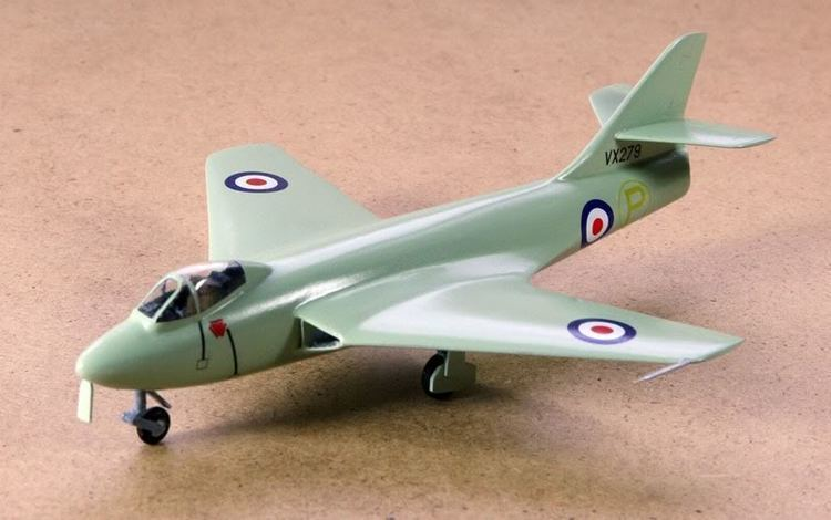 Hawker P.1081 Hawker P1081 Heritage 172 resin Ready for Inspection Aircraft