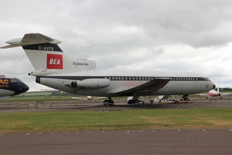 Hawker Siddeley Trident 1000 images about Hawker Siddeley Trident Hs121 on Pinterest