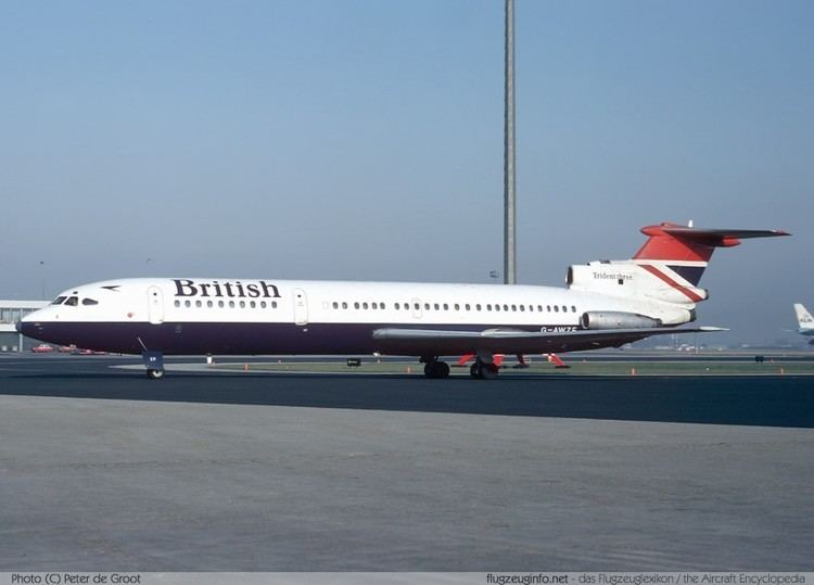 Hawker Siddeley Trident Hawker Siddeley HS 121 Trident Specifications Technical Data