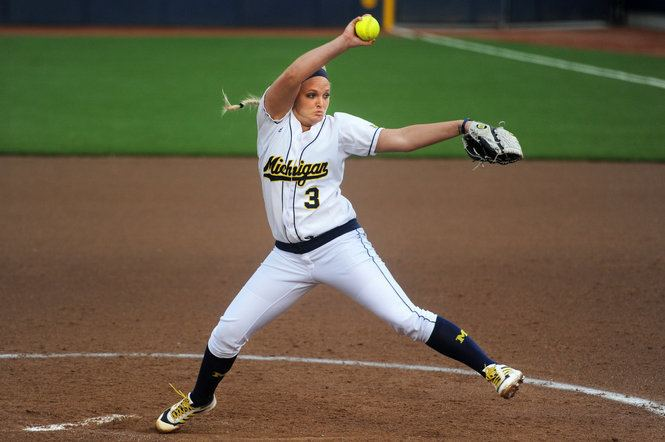 Haylie Wagner Photo gallery University of Michigan softball pitchers