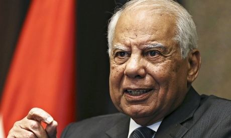 Hazem Al Beblawi Egypt39s prime minister and cabinet resign and Ibrahim