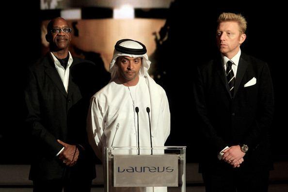 Hazza bin Zayed bin Sultan Al Nahyan Sheikh Hazza Bin Zayed Al Nahyan Photos Photos Awards ShowLaureus