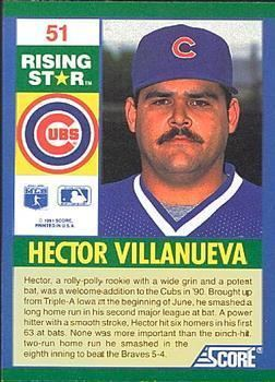 Héctor Villanueva Hector Villanueva Gallery The Trading Card Database