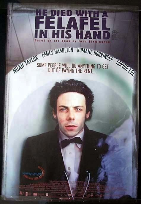 He Died with a Felafel in His Hand (film) He Died with a Felafel in His Hand Movie Poster 1 of 2 IMP Awards