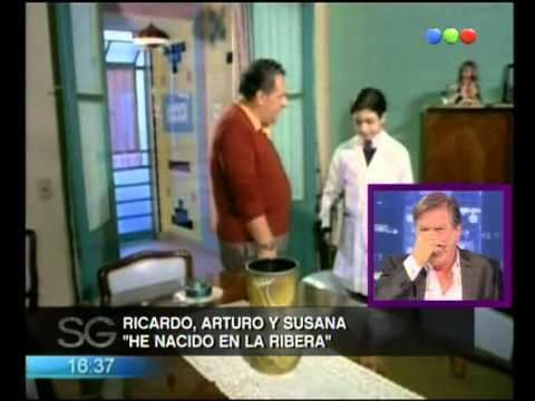He nacido en la ribera Arturo Ricardo y Susana en He nacido en la ribera Susana