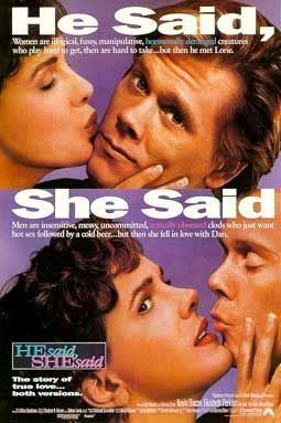 He Said, She Said movie poster