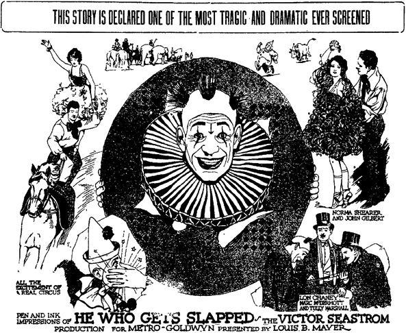 He Who Gets Slapped He Who Gets Slapped 1924