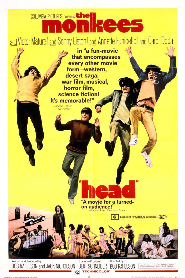Head (film) wwwgstaticcomtvthumbmovieposters8183p8183p