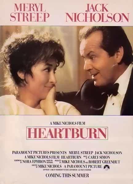 Heartburn (film) Bamboo Trading Jack Nicholson Heartburn 1986 Movie Ad Movie Show