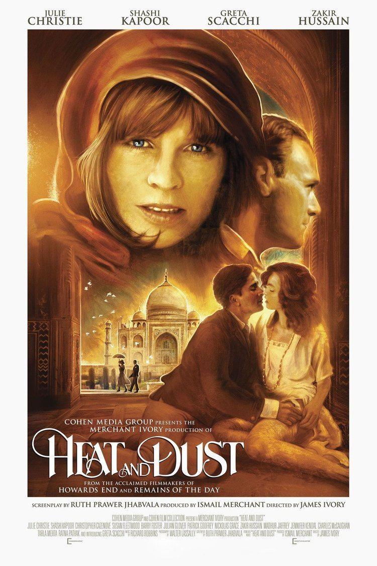 Heat and Dust (film) wwwgstaticcomtvthumbmovieposters7966p7966p