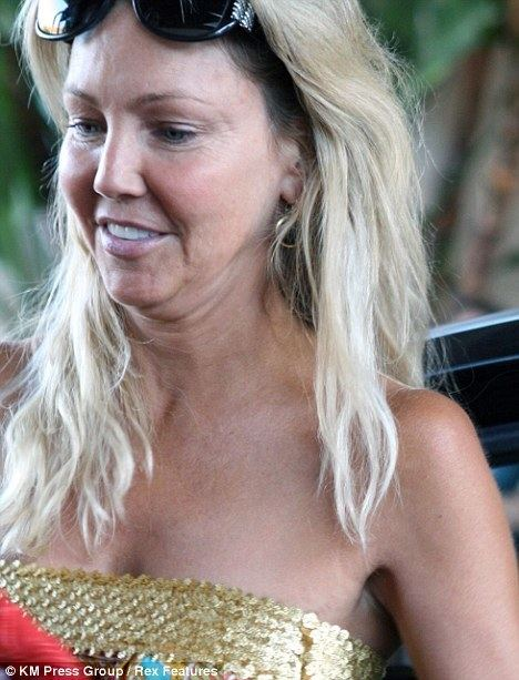 Heather Locklear What happened to Heather Locklears face Actress appears to have
