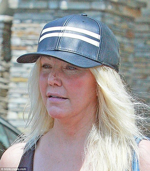 Heather Locklear Heather Locklear sparks concern as shes spotted with nose injury in