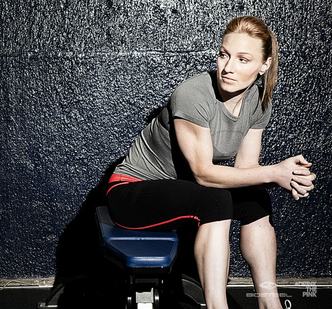 Heather Moyse Heather Moyse Twice Olympic Gold Medalist in Bobsleigh and an
