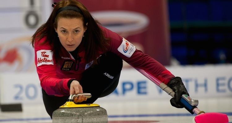 Heather Nedohin Newlook Nedohin squad preparing for Camrose Curling