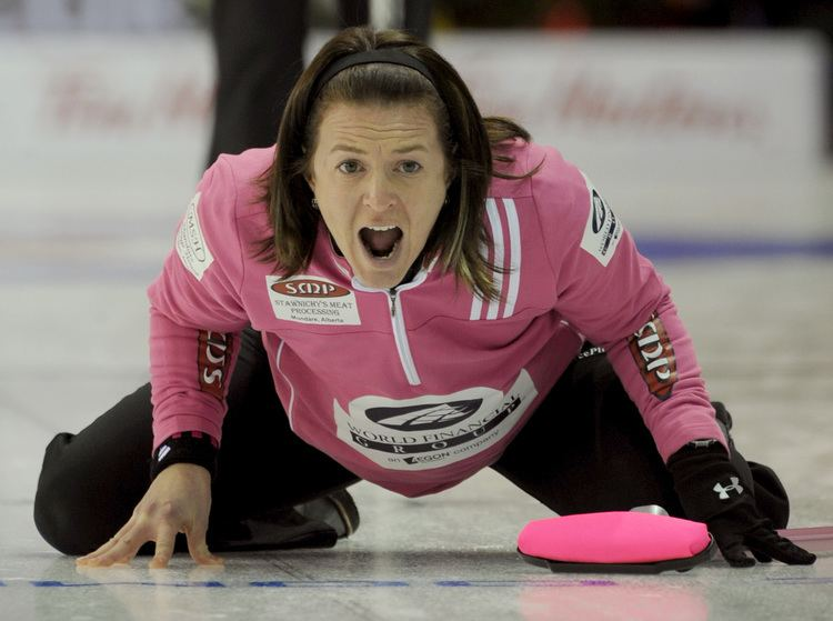 Heather Nedohin Nedohin Looking to Build on Last Year39s Momentum Curling