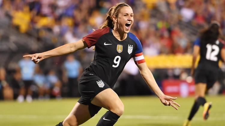 Heather O'Reilly Heather O39Reilly Megan Rapinoe share spotlight in US rout ABC News