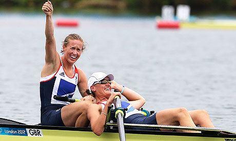 Heather Stanning Helen Glover and Heather Stanning deserve place in GB