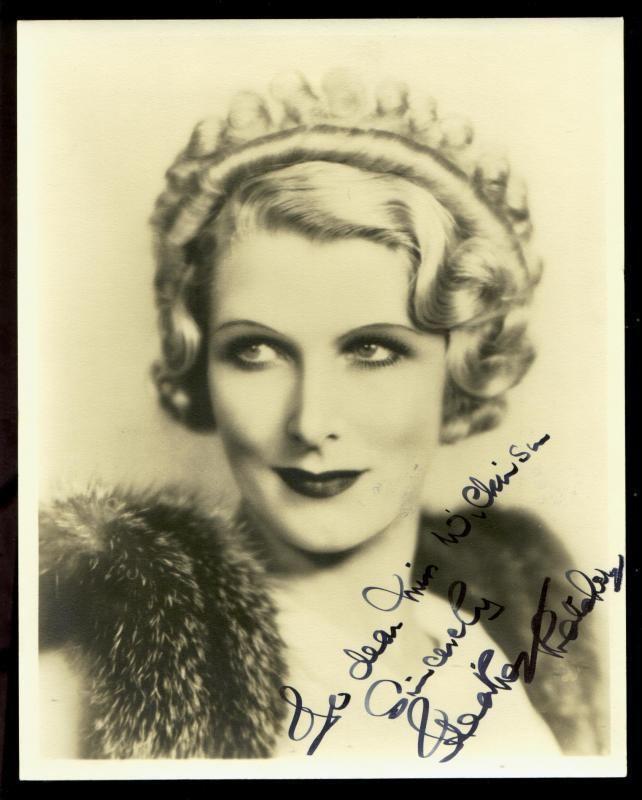 Heather Thatcher Clickautographs autographs Heather Thatcher