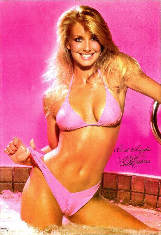 Heather Thomas Postertv actress heather thomas pink bikini free