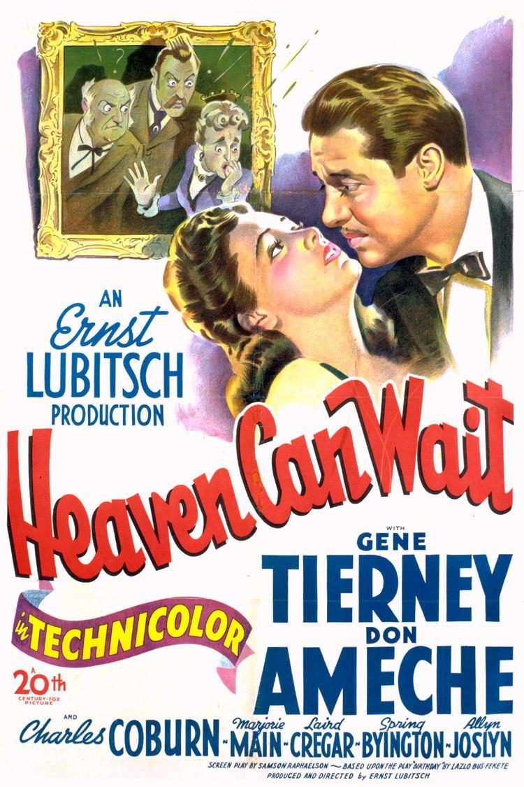 Heaven Can Wait (1943 film) wwwgstaticcomtvthumbmovieposters4384p4384p
