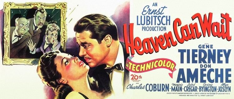 Heaven Can Wait (1943 film) Heaven Can Wait 1943 Classic Movie from 20th Century Fox