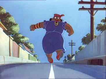 Heavenly Puss movie scenes Mammy Two Shoes in a scene from the Tom Jerry short Saturday Evening Puss where her full face was uniquely shown