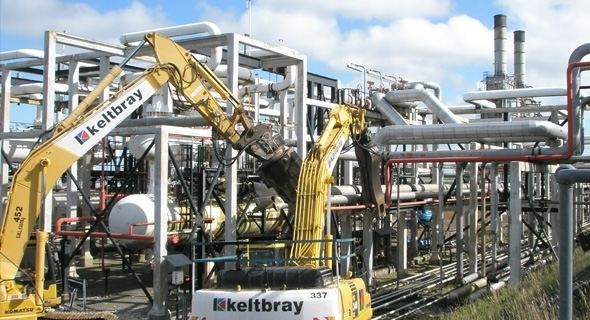 Heavy industry Heavy Industry amp Petrochemical Decommissioning Keltbray