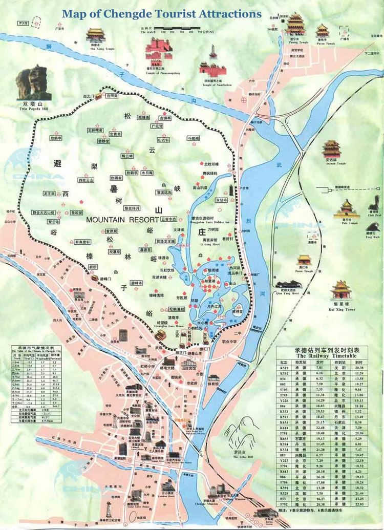 Hebei Tourist places in Hebei