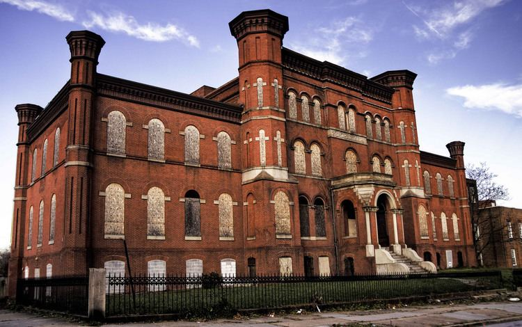 Hebrew Orphan Asylum (Baltimore, Maryland) Old Hebrew Orphan Asylum later Lutheran Hospital Baltim Flickr