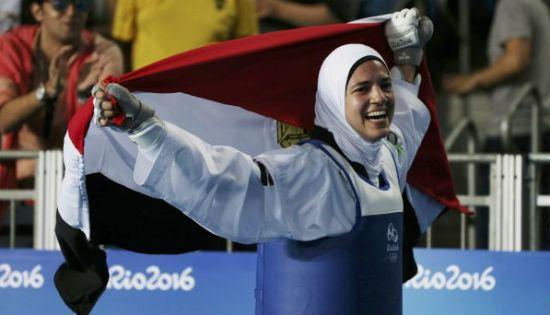 Hedaya Malak Taekwondo fighter Hedaya Malak wins third bronze medal for Egypt at