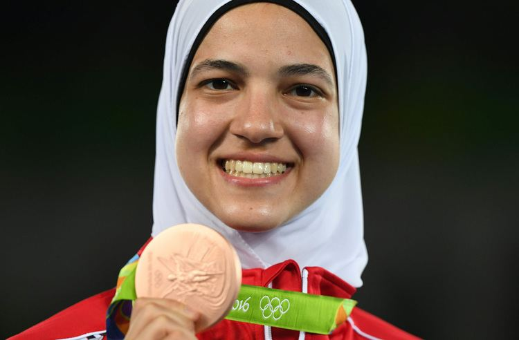Hedaya Malak PHOTO GALLERY Taekwondo fighter Hedaya Malak snatches third bronze