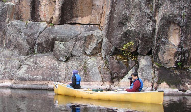 Hegman Lake Pictograph Boundary Waters Hegman Lake
