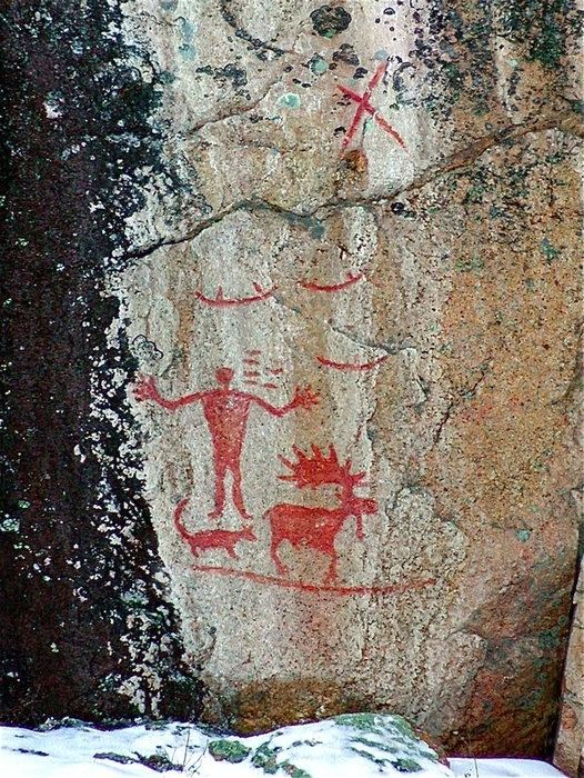Hegman Lake Pictograph 1000 images about Pictographs amp Petroglyphs of the West on