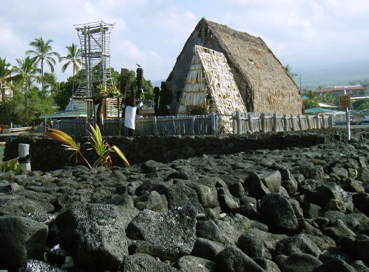 Heiau Kona39s Fascinating History Ahu39ena Heiau at Kamakahonu Beach