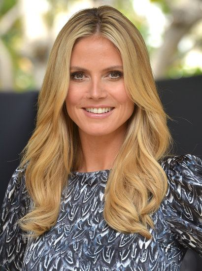 Heidi Klum Heidi Klum Hair and Makeup Tips POPSUGAR Beauty