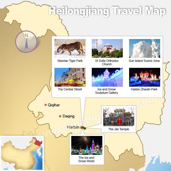 Heilongjiang Tourist places in Heilongjiang