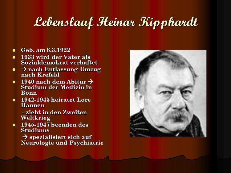 Heinar Kipphardt In der Sache J Robert Oppenheimer Von Heinar Kipphardt ppt