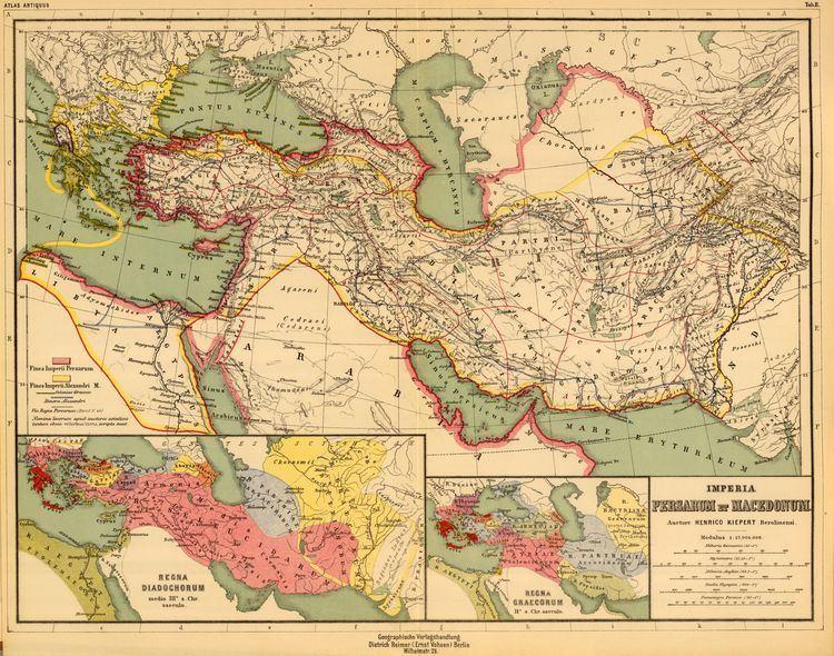 Heinrich Kiepert FileHeinrich Kiepert Imperia Persarum et Macedonum 1903 Ajpg
