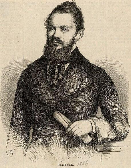 Heinrich Laube Portrt Heinrich Laube Die Welt der Habsburger