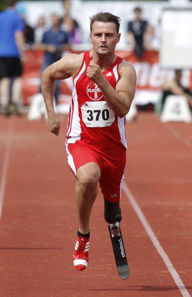 Heinrich Popow Leichtathletik im Behindertensport TSV Bayer 04