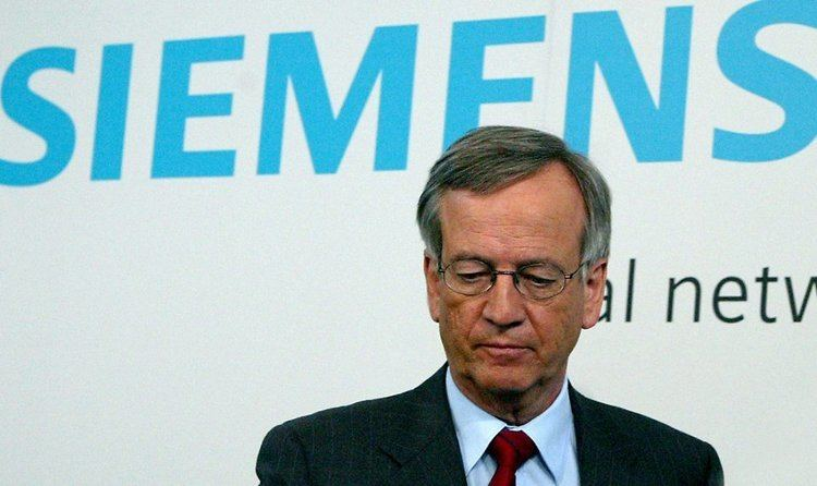 Heinrich von Pierer SiemensSkandal Von Pierer muss zahlen ntvde
