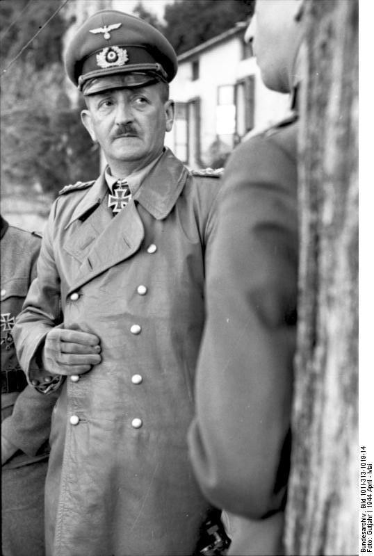 Heinrich von Vietinghoff FileBundesarchiv Bild 101I313101914 Italien Heinrich