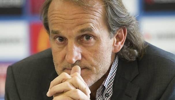 Heinz Hermann Heinz Hermann vom FC Luzern als Sportcher sofort entlassen