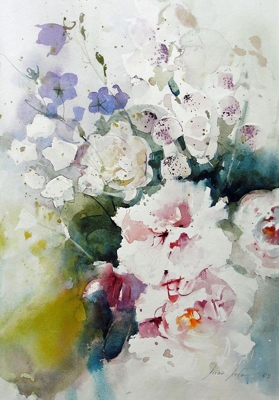 Heinz Hofer Heinz Hofer Heinz Hofer Pinterest Watercolor Flower art and